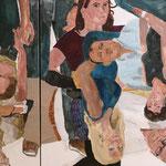 """Eva Hradil, """"21 Menschen"""" Zustandsfoto/Detailansicht 22 aus 21"""