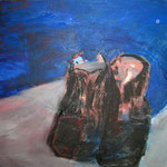 "Eva Hradil ""innen rosa"" Öl auf Leiwand, 50 x 60 cm"