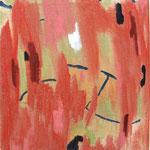 "Eva Hradil ""kleines abstraktes SP"" Eitempera auf Leinwand, 33 x 30 cm"