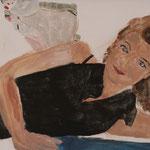 """Eva Hradil, """"21 Menschen"""" Zustandsfoto/Detailansicht 15 aus 21"""