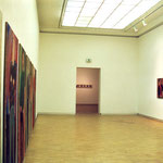 "Ausstellung ""Männer - Eva Hradil malt (sich) Männer"" 2004, Künstlerhaus, Hausgalerie"