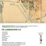 TO LANDSCAPE I&II 2011 Universität für angewandte Kunst