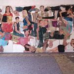 """Eva Hradil, """"21 Menschen"""", Zustandsfoto von 24 aus 21"""