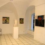 """Eva Hradil, """"101 Selbstportraits"""", Ausstellungsansicht Galerie Peithner-Lichtenfels"""