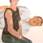 """Eva Hradil, """"21 Menschen"""" Zustandsfoto/Detailansicht 05 aus 21"""