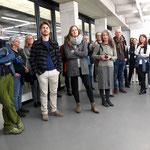 """Brotberuf Malerei"" Galerei Eboran, Salzburg, Foto während der Eröffnung, Foto: Hradil"