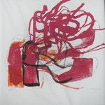 """Eva Hradil """"Schuhe"""" Serigrafie"""