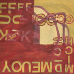"Eva Hradil ""MEUOY"" 2015, Öl auf Leinwand, 80 x 90 cm"