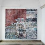 """""""Verbndenheit"""" 2012-2013, Eitempera auf Halbkreidegrund auf LW, 200 x 210 cm, Foto: DOK"""