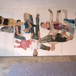 """Eva Hradil, """"21 Menschen"""", Zustandsfoto von 11 aus 21"""