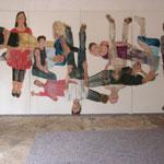 """Eva Hradil, """"21 Menschen"""", Zustandsfoto von 12 aus 21"""