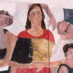 """Eva Hradil, """"21 Menschen"""" Zustandsfoto/Detailansicht 24 aus 21"""