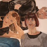 """Eva Hradil, """"21 Menschen"""" Zustandsfoto/Detailansicht 21 aus 21"""