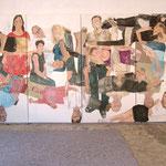 """Eva Hradil, """"21 Menschen"""", Zustandsfoto von 21 aus 21"""