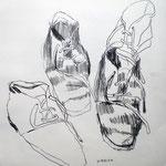 Eva Hradil 2002, 40x40 cm
