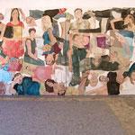 """Eva Hradil, """"21 Menschen"""", Zustandsfoto von 27 aus 21"""