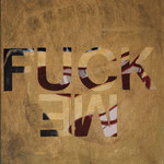 "Eva Hradil ""Me fuck"" 2014 Eitempera auf Halbkreidegrund auf Leinwand, 50 x 45 cm"