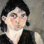 """Eva Hradil """"zwei unterschiedliche Augen"""" 1999,"""