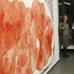 """Brotberuf Malerei"" Galerei Eboran, Salzburg, Foto während der Eröffnung, Foto: Christian Ecker/Galerie Eboran"