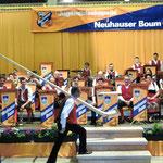 Alphornsolist Lothar Dietl ..