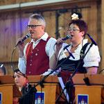 Unser Gesangsduo Josef und Antia