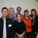 Colloque RAO Lyon - Dr Franck Nguyen, Gilles Verrier, Denis Labouré, Josette Bétaillole, Suzanne Martel, Valérie Darmandy