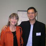 Colloque RAO Lyon - Suzanne Martel et Dr Franck Nguyen, président