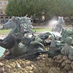 Neptune, la Fontaine des Quinconces