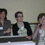 Anne Viliano, M.F. Solvès et Josette Bétaillole - Astrologie Bordeaux 2010