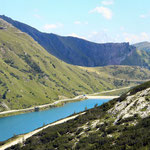 vista su Lago Fedaia
