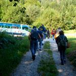 Il G.M.P. al ritorno al bus