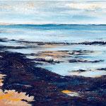 Morsum Sylt, 70 x 50 cm, Acryl auf Leinwand, 2012