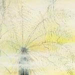 Baumfarn im Nebel, 100 x 80 cm, Öl auf Leinwand, 2016
