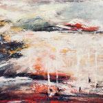 o.T., 100 x 80 cm, Acryl auf Leinwand, 2013, verkauft