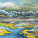 so still, 100 x 80 cm, Acryl auf Leinwand, 2016
