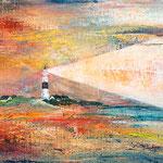 Kampen, Sylt, 40 x 30 cm, Öl auf Leinwand, 2015