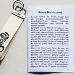 Heinis Handstand als Märchen ausgedruckt
