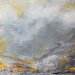 o.T., 100 x 80 cm, Acryl auf Leinwand, 2016