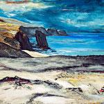Fuerteventura I, 100 x 80 cm, Acryl auf Leinwand, 2012