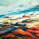 Fuerteventura IV, 100 x 80 cm,Acryl auf Leinwand, 2012