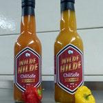 wilde hilde original curry und chili soße, perfekt zum verfeinern aller gerichte
