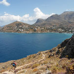 The walk to the monastery - Kalymnos