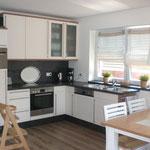 großzügige Einbauküche Ferienhaus Ele im Sonnenhof auf Borkum