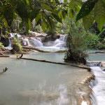 Wasserfälle von Tan Kuang Si
