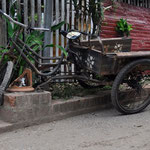 Das Fahrrad als wichtiges Transportmittel in Luang Prabang