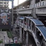 Start der 2. Reise von Bangkok nach Chiang Mai. Blick aus dem Hotelzimmer