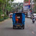 Mönche unterwegs