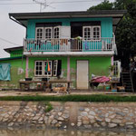 Haus am Fluss in Suphanburi