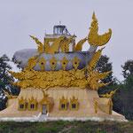 Start der Mekongreise in Houayxai