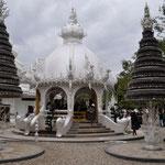 """Wat Rong Khun"" wird auch der ""Weisse Tempel"" genannt"